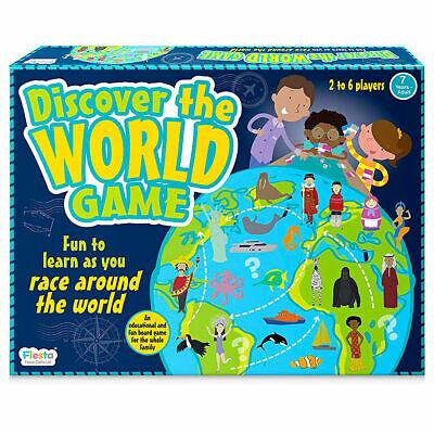 Ambizioso Scopri Il Gioco Del Mondo Mappa Di Famiglia-imparare Come Si Corsa In Tutto Il Mondo-mostra Il Titolo Originale