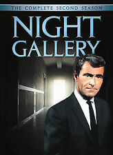 NIGHT GALLERY SEASON 2 New Sealed 5 DVD Set Rod Serling Free Ship