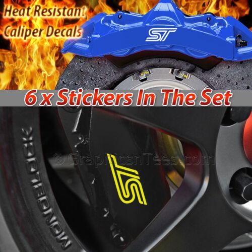 ST Brake Caliper Sticker Decal
