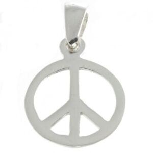 Peace-Anhaenger-Silber-Symbol-Schmuck-NEU