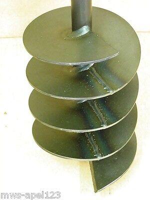 Forage en-tête 180 mm tarière à main puits Tariere Auger Drill foret fountain