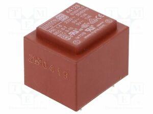Transformador-Revestido-2VA-230VAC-9V-9V-111mA-111mA-44128-Pcb-Transformatoren