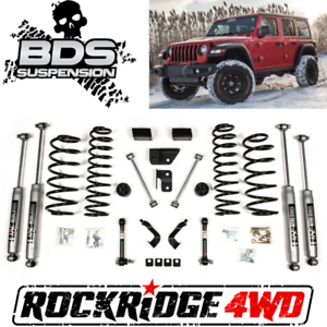 Jeep Wrangler Lift Kits >> Details About Bds Suspension 2 Suspension Lift Kit For 18 Jeep Wrangler Jl 4 Door 1435h