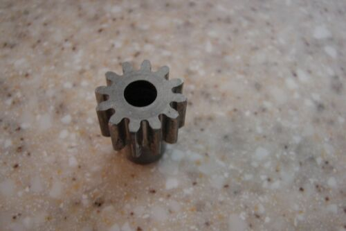 Pinion gear 12 Tooth 1//4 inch bore Spur gear