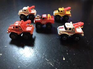 Micro MACHINES-GALOOB - 1987 ROAD Champs LOTTO (5) - CARRO ATTREZZI CAMION & 4x4