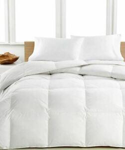 Luxury-Comforter-Siberian-Goose-Down-1200-TC-100-Egyptian-Cotton-White