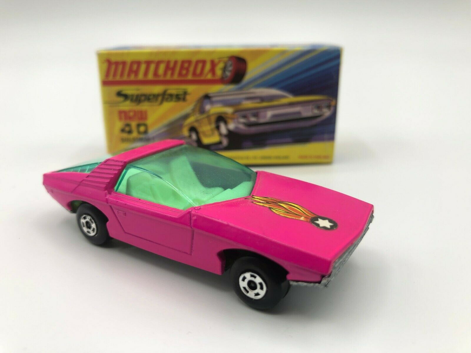 Matchbox Lesney Superfast Guildsman MIOB H Box