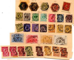 Anciens-timbres-de-Belgique