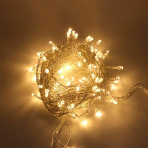 10M Christmas Tree Fairy String Party LED Light Waterproof Color Lamp Xmax 100