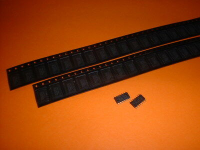 5x 74HC125 SMD Leitungstreiber 4-fach tristate SO14
