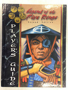 LEGEND-OF-THE-FIVE-RINGS-RPG-SECOND-EDITION-PLAYER-039-S-GUIDE-HARDCOVER-AEG-3101