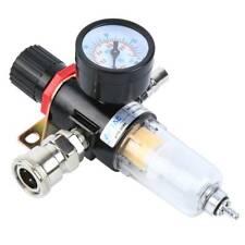14 Air Compressor Filter Water Separator Trap Tools Kit 150psi Regulator Gauge