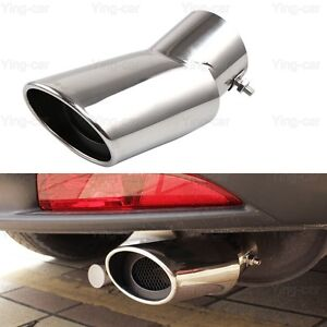 Semoic 2Pcs Silver Car Exhaust Muffler Tail Pipe Tip Tailpipe for CRV CR-V 2017