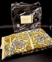 Pottery Barn Blue Mia Block Print Standard Pillow Cover Sham