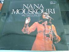 NANA MOUSKOURI - BRITISH CONCERT - VINYL LP