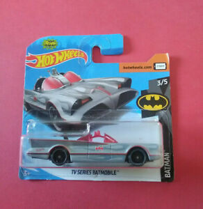HOT-WHEELS-TV-SERIES-BATMOBILE-BATMAN-SHORT-CARTE-FYB90-R-5772