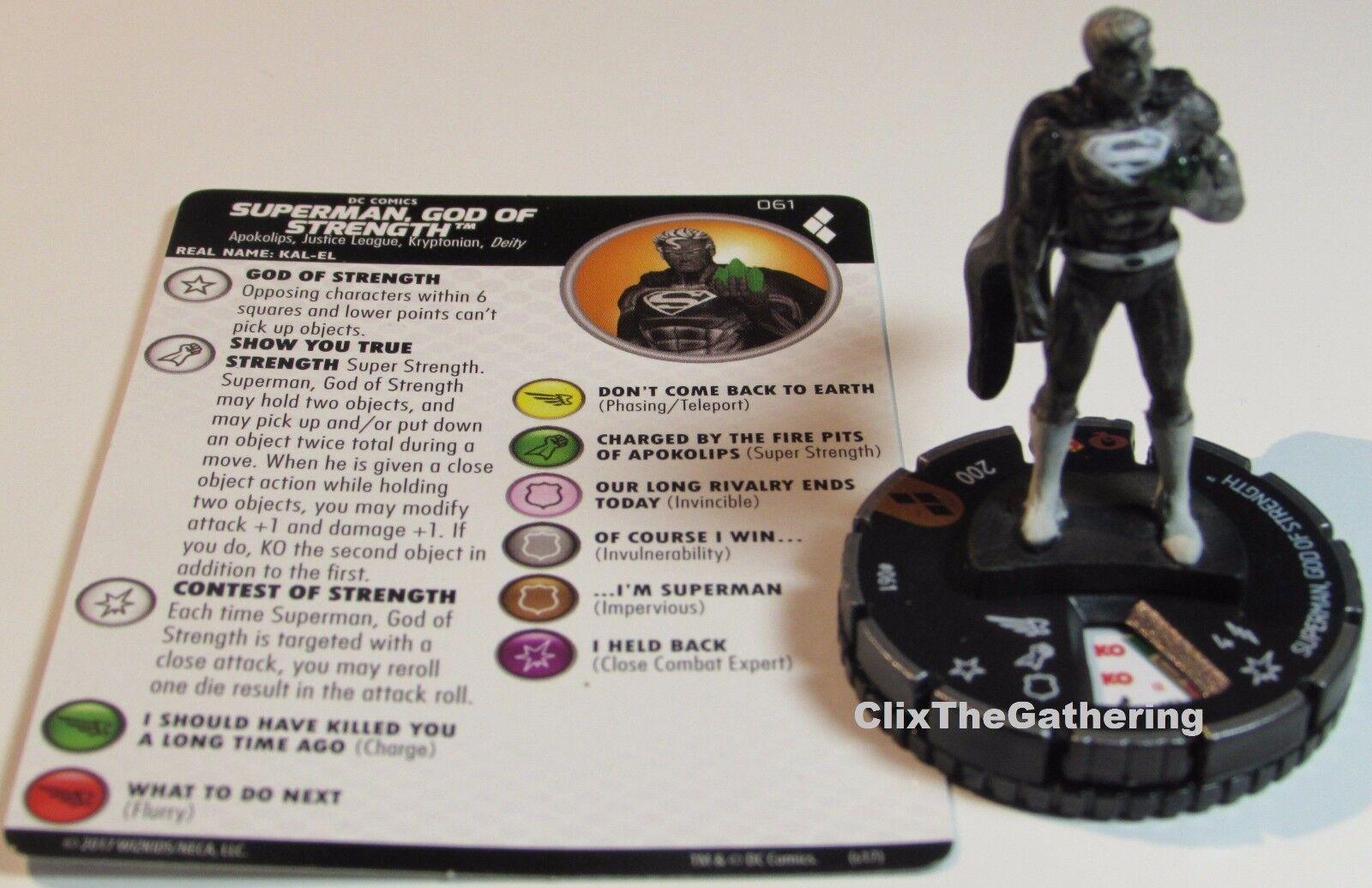 Superuomo,God Of Forza  061 Harley Quinn e The Gotham Ragazze Heroclix  prezzi bassi di tutti i giorni