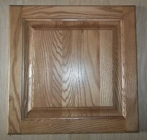 Details About Pair Of 11 X 22 Square Raised Panel Ash Kitchen Cabinet Cupboard Doors