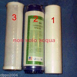 FILTRI DEPURATORE OSMOSI,FILTRI ACQUA,purificatore acqua,pre-filtri osmo,OFFERTA  eBay