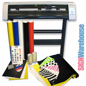 image is loading 31 034 vinyl cutter bundle amp software machine - Best Vinyl Cutter
