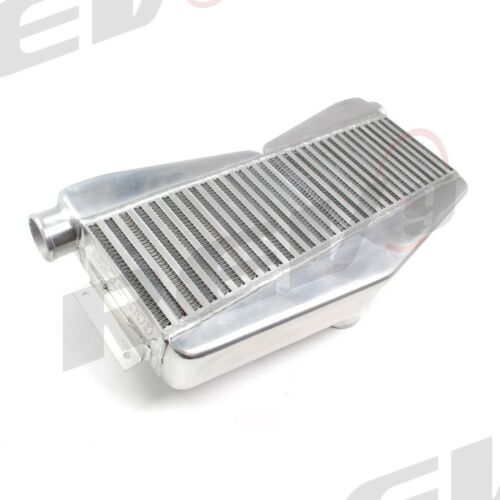 "REV9 Spec A FMIC Aluminum Front Mount Twin Turbo Intercooler 11x22x3 500hp 2.5/"""