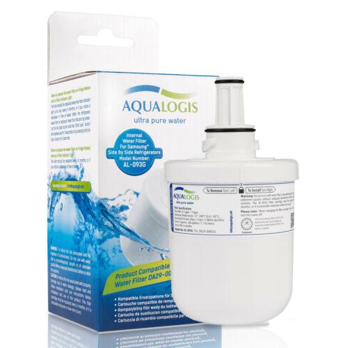 2 x Samsung Frigo RSG5UURS FILTRO MODELLO aqualogis al-093g si adatta DA29-00003G Nuova