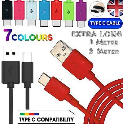 Colourful Usb C 3.1 Type-c Fast Data Sync Charging Cable Lead For Android Phone Unterscheidungskraft FüR Seine Traditionellen Eigenschaften