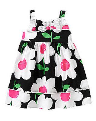 NWT Gymboree Daisy Park Bow Daisy Dress 12 18 24mo 2T 3T 4T 5T Toddler Girl