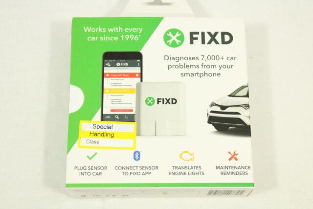 FIXD Vehicle Health Monitor - White,BRAND NEW