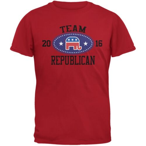 Election Team Republican 2016 Red Adult T-Shirt