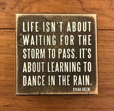 I Danced Den Gifts Decor Novelty Primatives By Kathy Rustic Wooden Box Sign
