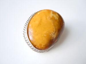 Zuversichtlich Riesige Natur Bernstein Silber Brosche Butterscotch & Honig 38,7 G/5,3 X 4,0 Cm Gute QualitäT Bernstein Sammeln & Seltenes
