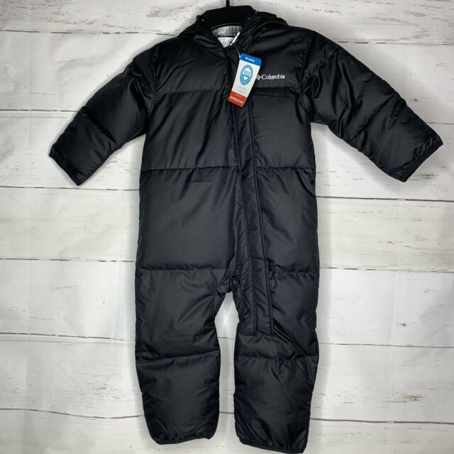 3-6 /& 6-12 Mth NWT Columbia Infant Boys Ski Bowl Bunting Snow Suit Navy Blue Sz