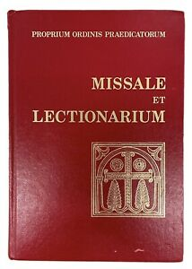 Dominican Missal and Lectionary (Missale et Lectionarium) Editio Typica 1985