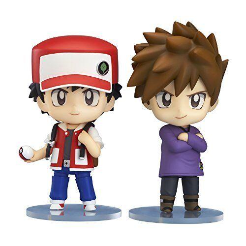Kb09 New The Pokemon Company Nendoroid 612 Pokemon Trainer ROT & Grün PVC Japan