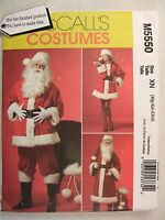 sewing pattern SANTA CLAUS men women s m l size costume suit flirty old world Craft Supplies