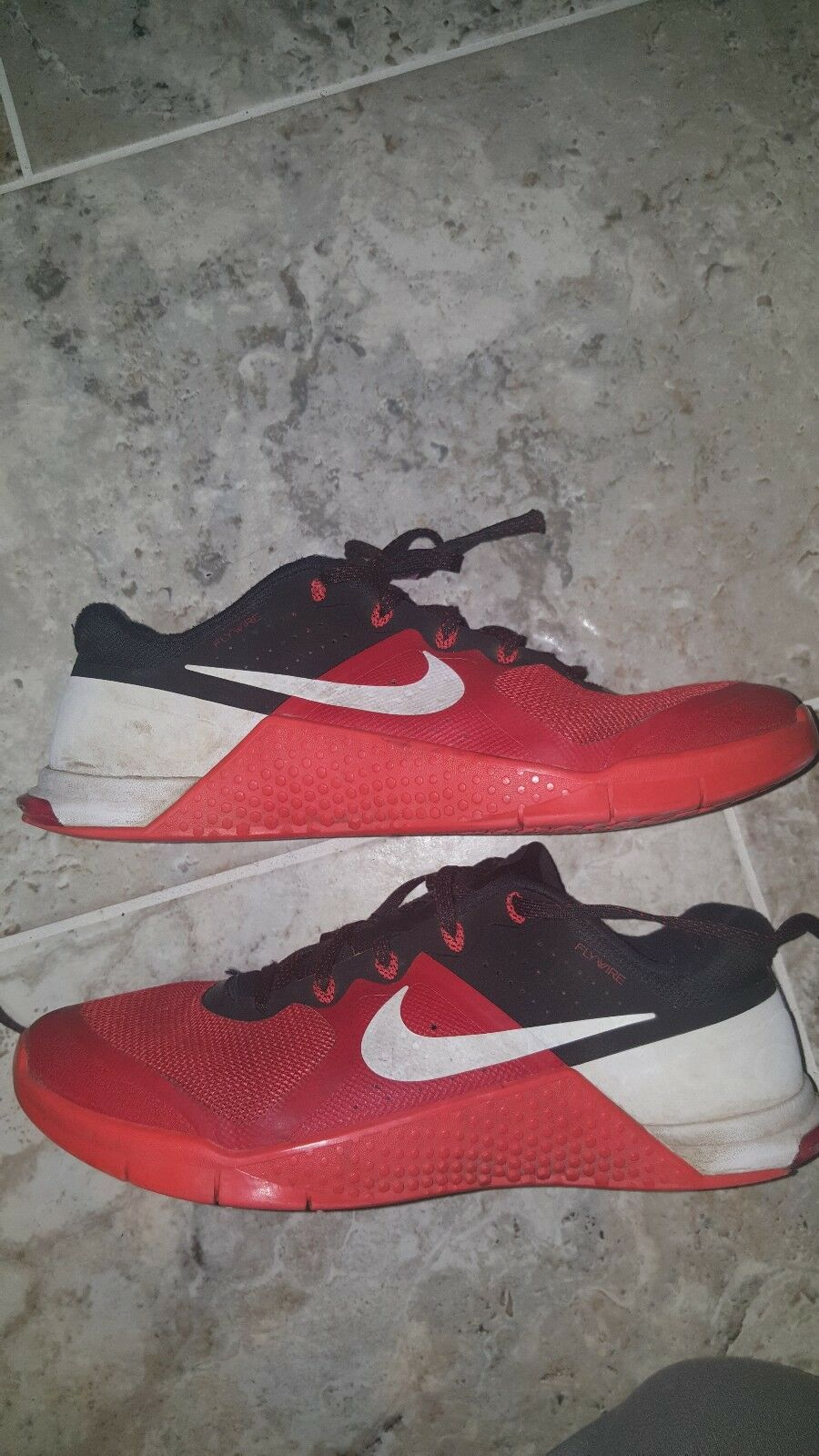 Nike Metcon 2 Men Shoes Action Red/Black/White 819899-601 Size US8 UK7