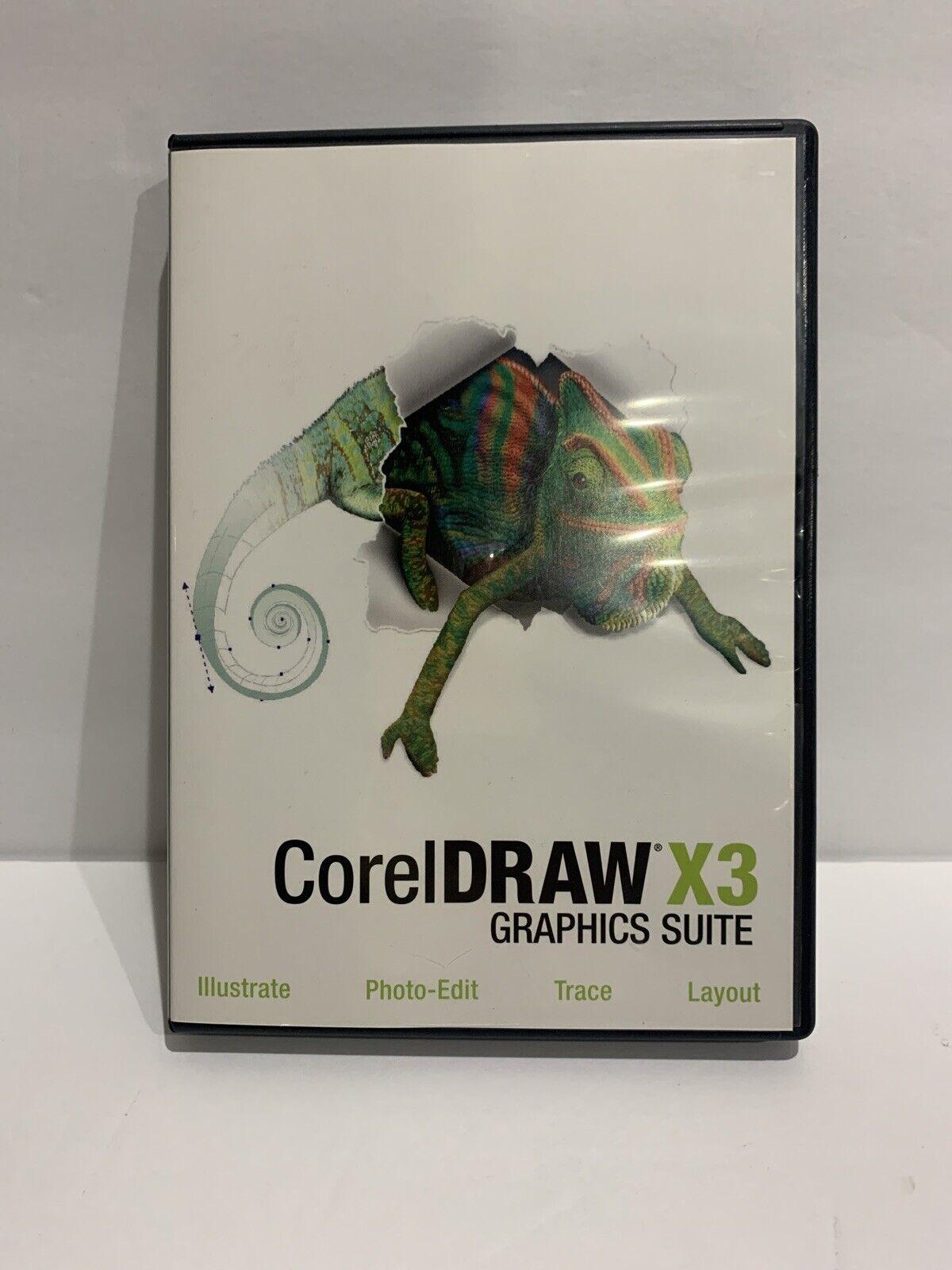 Corel Draw X3 Graphics Suite Software 17