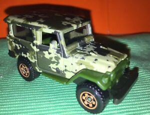 Matchbox-1968-Toyota-Land-Cruiser-FJ40-Camouflaged-New-From-Pack-1-64-Die-Cast