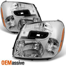 05-09 Chevy Equinox SUV Clear Headlights Headlamps Replacement Left + Right Pair