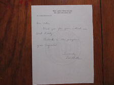LEO  MILLER(Died-1998)Signed 1975 Letter-West Liberty St. College Football Coach