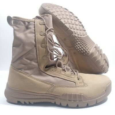 "NIKE SFB FIELD 8/"" TACTICAL MILITARY BOOTS BRITISH KHAKI 631371-220 MEN/'S SIZE 14"
