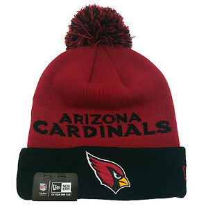30d6f2a07a0 NFL ARIZONA CARDINALS NEW ERA Winter Fresh Pom Knit Beanie Cuff ...