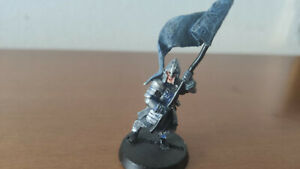 Warhammer-Lord-Of-The-Rings-Minas-Tirith-Standard-Bearers-Metal-Figure-painted