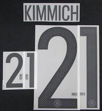 Aktuell DFB Deutschland KIMMICH Flock für Adidas Home Trikot EM 2016-WM 2018KIMM