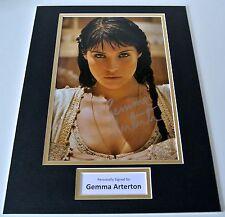 Gemma Arterton SIGNED autograph 16x12 photo display Prince of Persia Film & COA