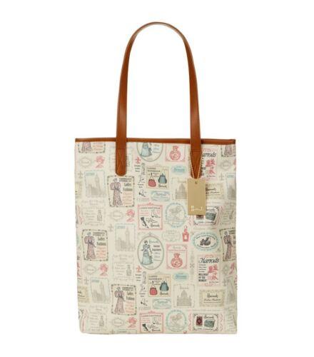 Shoulder Bag Signs Chic Harrods Shopper Design Shabby Vintage New Season nzxwp60
