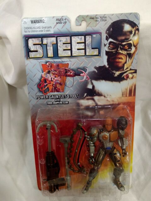 Steel Power Gauntlet Steel Action Figure From Kenner By Hasbro 1997 NEW t1293