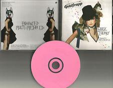 GOLDFRAPP 2003 Rare EUROPE Made ENHANCED VIDEO & EPK PROMO DJ CD USA Seller MINT