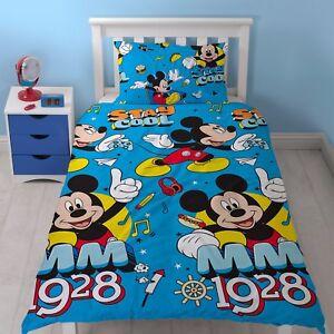 Copripiumino Musica.Letto Singolo Mickey Mouse Cool Set Copripiumino Musica Hot Dog